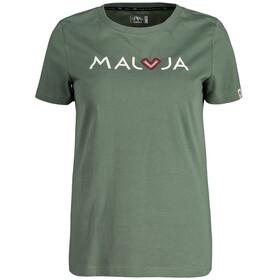 Maloja CrotschasM. Koszulka Kobiety, cypress